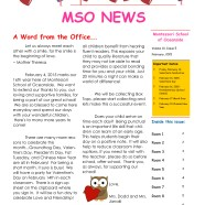 MSO February 2015 Newsletter