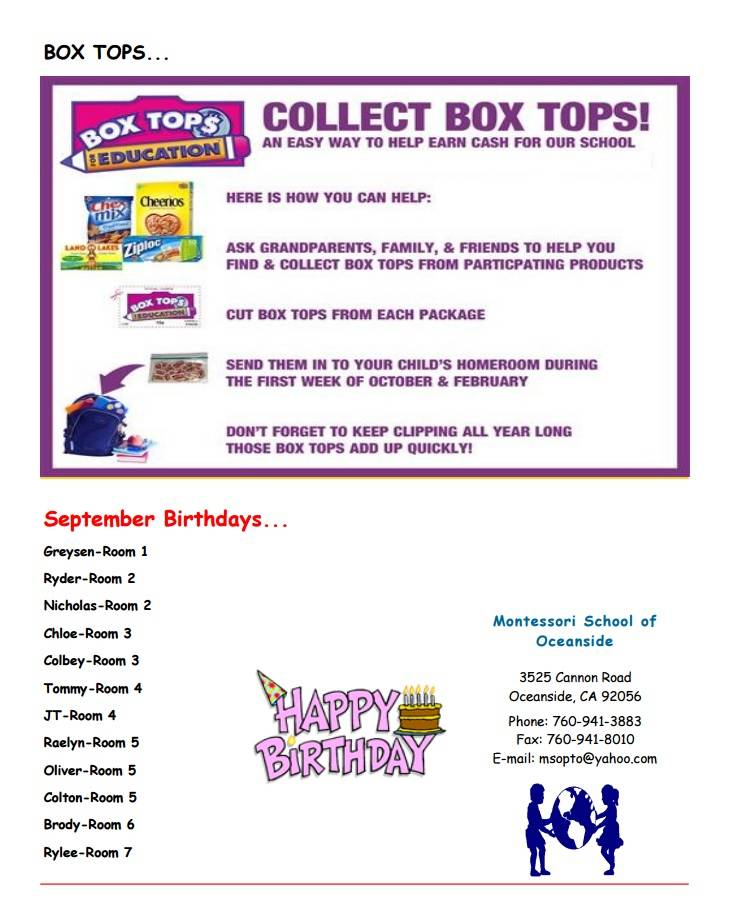 MSO September News Box Tops 4