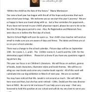 Montessori Moments – Maria Montessori